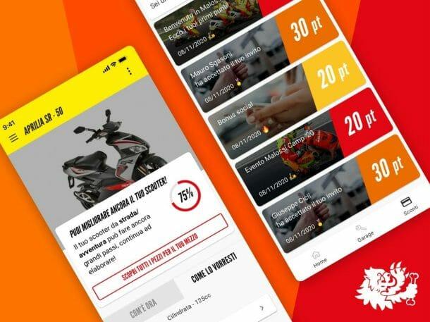 Be.Malossi App Mobile