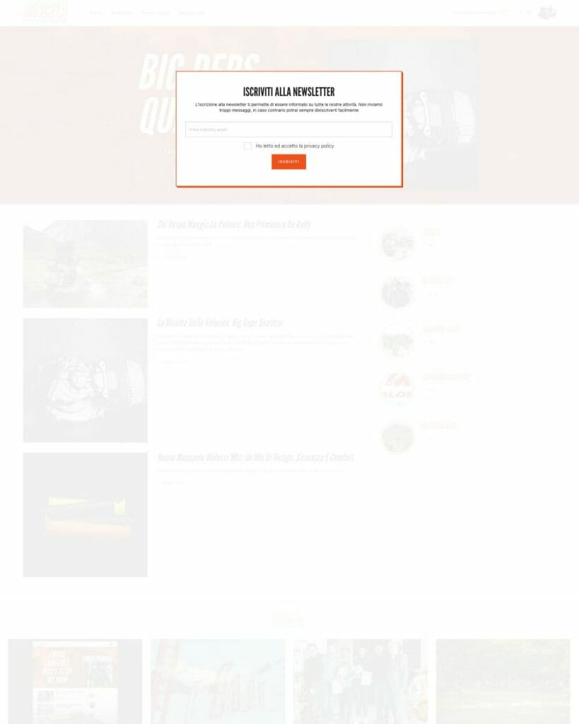 Miscela Magazine Sito Web Desktop 4