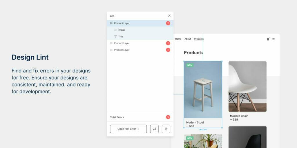 Figma Top Plugin Design Lint