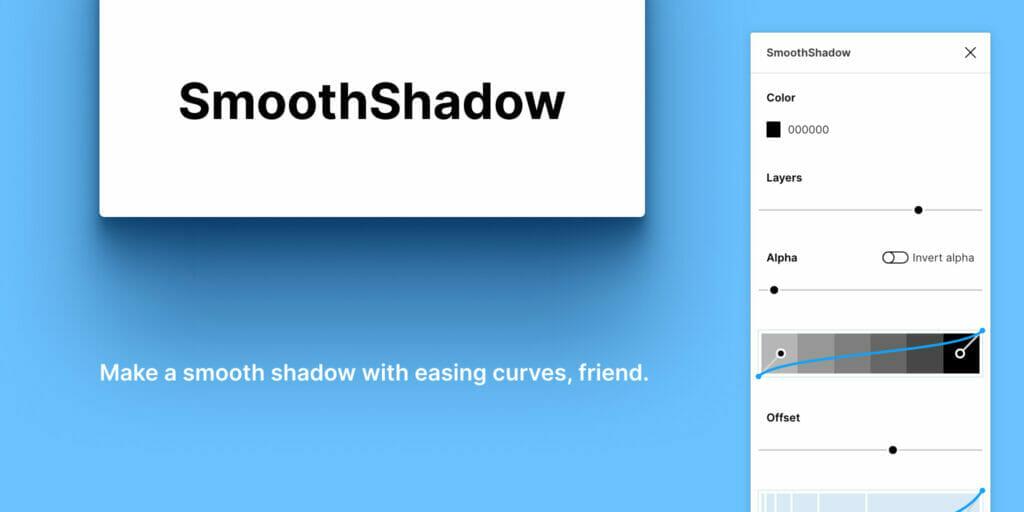 Figma Top Plugin SmoothShadow